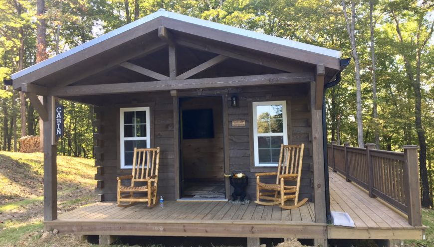 the in rentals opossum new west river creek virginia cabins national park gorge cabin